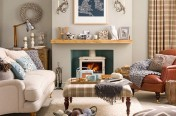 fresh cream stove fireplace