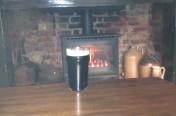 Stove in a pub